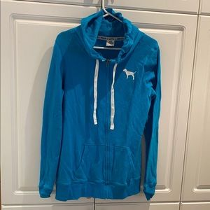 Pink Blue Hoodie Size Small Good Condition